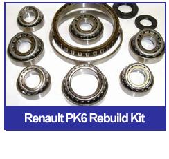 JR5 RENAULT JR5 5 SPEED GEARBOX BEARING REBUILD KIT