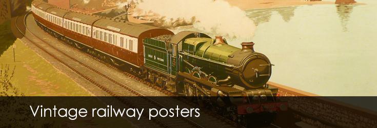 To Dairy Show Dublin 270 Vintage Railway Art