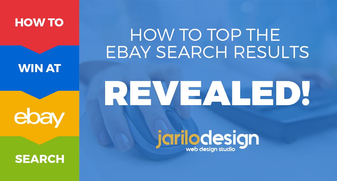 Revealed How To Top The Ebay Search Results Jarilo Design
